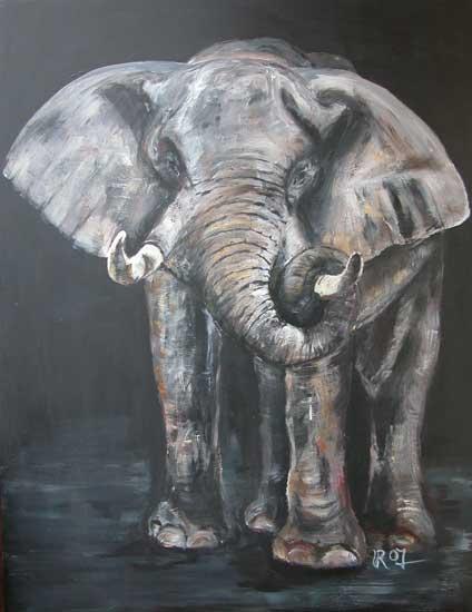 big five elefant. Black Bedroom Furniture Sets. Home Design Ideas